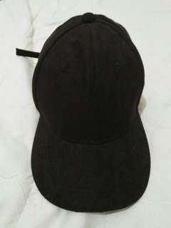 Plain black Baseball cap