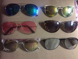 My Sunglasses Collection 🕶🌻