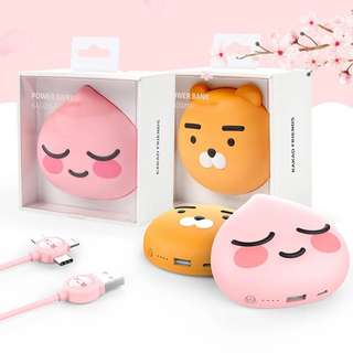Kakao Friends 行動電源Power Bank 6400mAh 韓國
