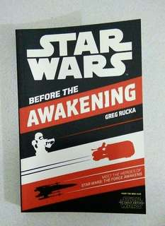 STAR WARS: Before The Awakening Book