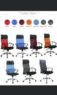 (Sales) Mesh Office chair/High back office chair/office/home/Living/Student