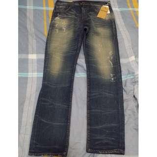 True Religion Men's Jeans - US32 - Blue