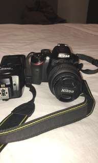 Nikon D3200 with sb700 speedlight