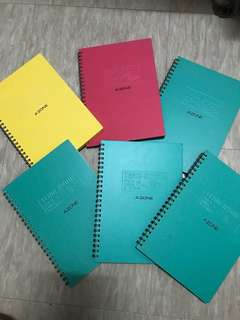 Team A'Zone A5 Ring Notebook