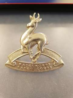 Vintage South Africa Cadet Corps cap badge