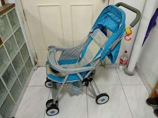 Seebaby stroller blue