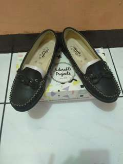 Adorable Project scarllet black flatshoes