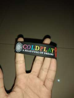 Wristband Coldplay - A Head Full of Dreams