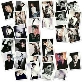 EXO Lotto Lomo Card