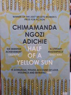 Half of a Yellow Sun (by Chimamanda Ngozi Adichie)