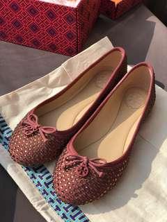 全新Tory 平底女 ballet 鞋