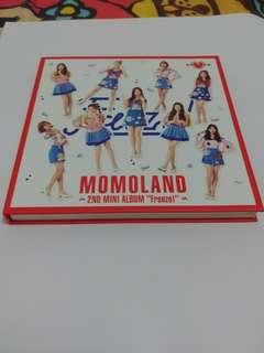 MOMOLAND 2nd 迷你專輯 Freeze! 淨專