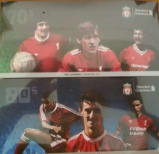 Liverpool 70's & 80's legend Cashcard (two in a set)