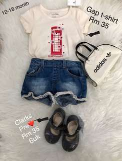 Kids Clothing Authentic Guess, Gap , Cotton On, H&M