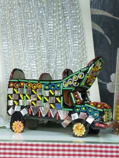 traditional transport (truck) for home decoration