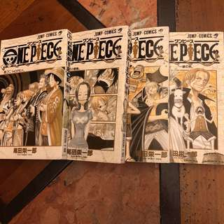 ONE PIECE COMIC BOOK Ep 22 to 25