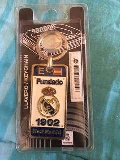 Real Madrid Key Chain