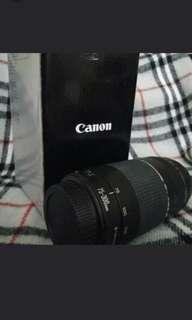 Canon DSLR lens ef 75-300