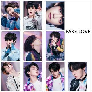 BTS FAKE LOVE STICKER SET