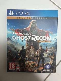 Ghost recon wild land DELUX EDITION