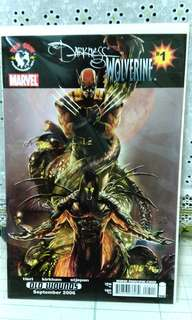 Marvel Top Cow  The Darkness Wolverine #1. First print.