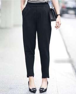 Cut front pants PREMIUM SCUBA