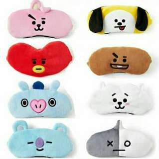 BT21 DUPE SLEEP MASK