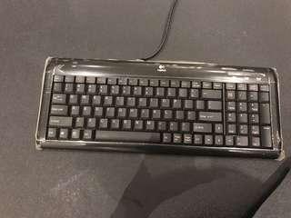 Logitech ultra flat keyboard