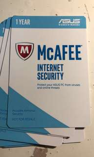MCafee Virus Protection