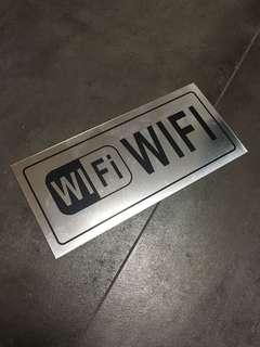 WiFi Signage