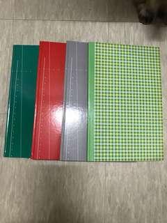 Accounts Recording Book / Note Book