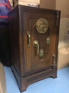 Antique Cast Iron Safe - Fire Proof