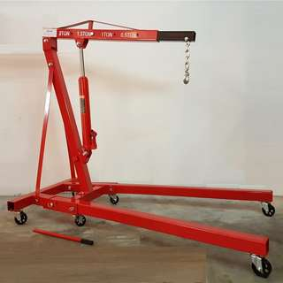 2Ton Hydraulic Folding Engine Crane 92kgs