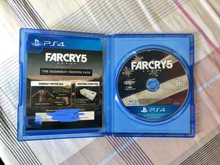 PS4 Game - Farcry 5 ( code 未用)