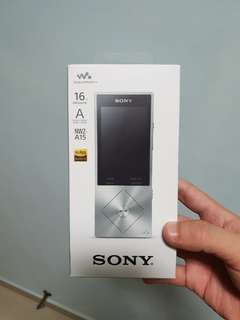 Selling Sony NW A15 (Local Sony set)