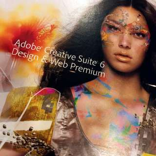 Adobe CS6 Design and Web Premium - Mac Version  *** Education Edition ***