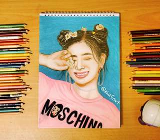 TWICE DAHYUN PORTRAIT WHAT IS LOVE