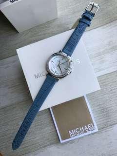 (有皮)(有鋼銀)(有鋼金)邁克爾·科爾斯MK貝殼面鑲鑽女錶,MK3641 / Mk3642 / MK3643,🈶️3⃣️色MK2661 MK2662 MK2663,錶盤直徑33毫米