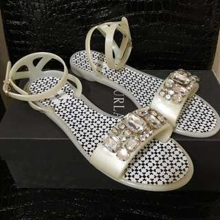💯New 💯Real Furla Candy Sandals Shoes