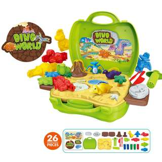 Dino World Playset (Bowa Dream The Suitcase)