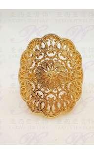 cincin dubai X cincin kroncong rangkap emas imitasi 1000% baru ya