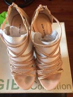 Rose Gold Pink Heels
