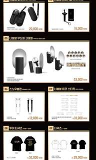 [PRE-ORDER] WANNA ONE OFFICIAL CONCERT GOODS MD SEOUL