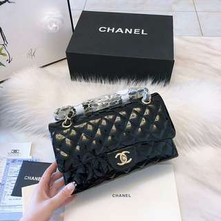 Chanel Flap Classic Lacquered Leather