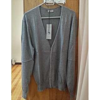Christian Dior Men's Cardigan - M - Grey