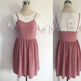 Old rose dress