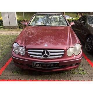 Mercedes-Benz CLK200 Cabriolet Auto Kompressor