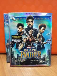 USA Blu Ray - Black Panther (Disney / Walmart Exclusive)