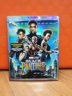USA Blu Ray Slipcase - Black Panther