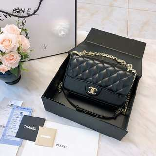 Chanel Accordion Bag